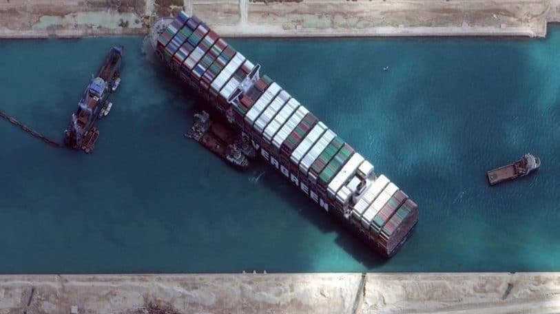 Stranded Suez ship confounds world uneasy about the long haul