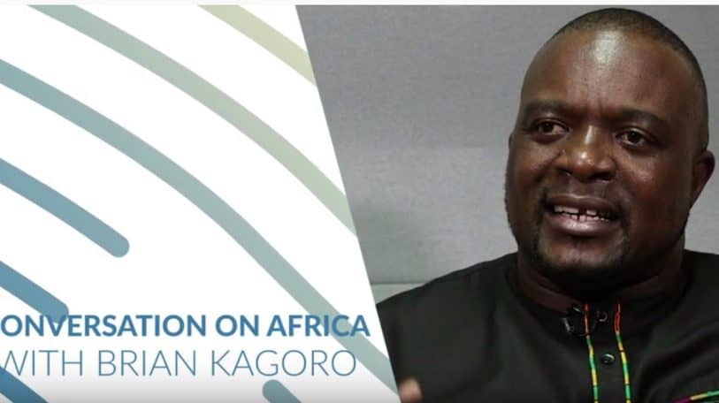 """Conversation with Brian Kagoro on Africa: """"We must take charge of our own destiny"""""""