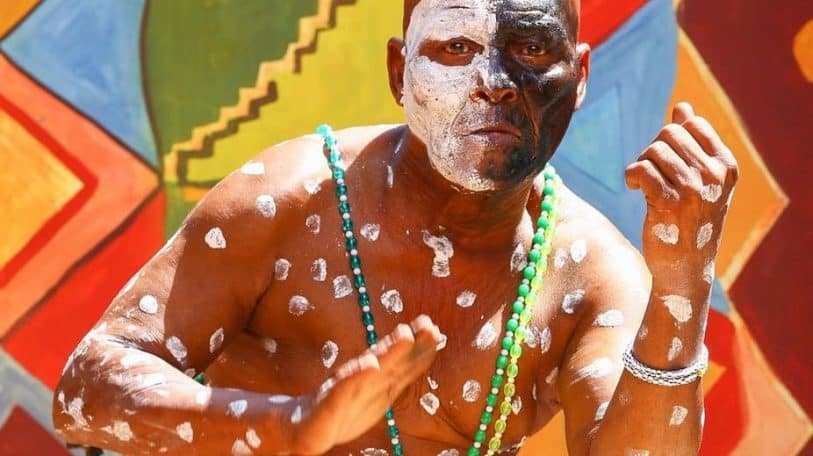The magnificent Mabi Thobejane, master South African drummer