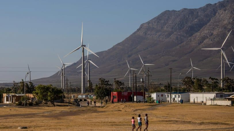 Global green energy: trick or treat for fossil era workers?