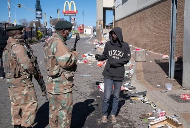 Chaos in South Africa points to failures in the project to build a democracy
