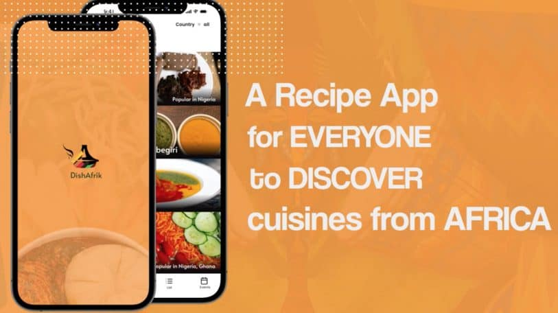 DishAfrik, the App to connect to the taste of Africa